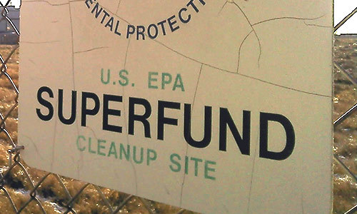 EPA ordered to make polluters pay for Superfund cleanup